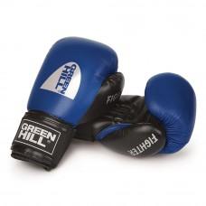 Боксерские перчатки GREEN HILL FIGHTER (синий)