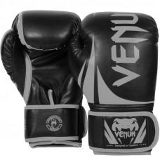 Боксерские перчатки venum сhallenger 2.0 neo black/grey