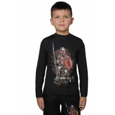 Рашгард BERSERK SPARTA KIDS black
